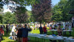 Gestern auf dem Welcome Sommerfest